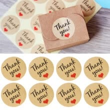 craft-gifts-120 x Thank You Sticker Labels Seals Craft Wedding Favours Envelope Card Package on JD