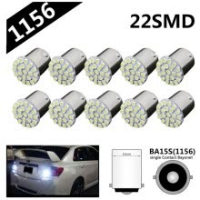 -10pcs 1156 Turn Signal BA15S P21W Car Light Bulb on JD