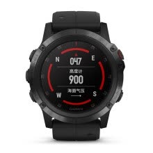 -Garmin Fenix 5X+ Black aDLC Sapphire Mirror Fly Time 5X Plus Heart Rate Music NFC Pay Golf GPS Outdoor Sports Navigation Watch on JD