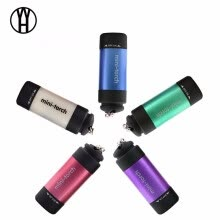 8750502-New Mini USB Flashlight Torch Keychain Light Waterproof Torchlight Pocket Multicolor Powerful and rechargeable led torch on JD