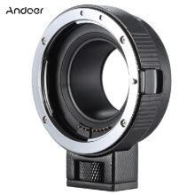 -Andoer Ef-eosm Lens Mount Adapter Support Auto-exposure Auto-focus And Auto-aperture for Canon Ef/ef-s Series Lens To Eos M Ef-m M on JD