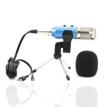 -MK-F200FL Condenser Microphone Professional Wired System Desktop New USB Microphones For Computer Video Recording on JD