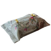 8750201-Freeshipping Magnolia Flower Style Cotton Customized Wedding Room Car Hotel Decorative Embroidery Tissue Box Napkin Holder Cover on JD