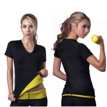 -Hot Body Shapers T-shirt Hot Shapers Stretch Neoprene Slimming Vest Body Shaper Control Vest Tops on JD