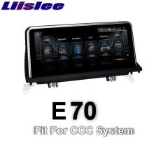 -For BMW X5 E70 2006~2010 CCC LiisLee Car Multimedia GPS Audio Hi-Fi Radio Stereo Original Style Navigation NAVI on JD