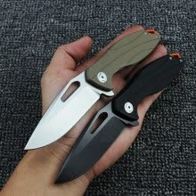 8750503-Small Wasp Folding Knife Ball Bearing D2 Blade Multifunctional Knives camping Outdoor pocket knives 1pcs Hand tools on JD