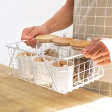 -Japanese hand iron collection basket  Bathroom toiletries and handbags.  Fruit and vegetable basket on JD
