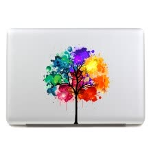 -GEEKID@Macbook Air decal sticker Partial decal macbook pro decal Trees macbook air decal apple sticker mac retina decals sticker on JD