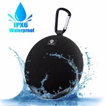 -Outdoor Wireless Speakers Bluetooth Protable IPX6 Waterproof 5W Powerful  Sound Bluetooth 3.0 with Hi-Fi Clip Sd Card Slot on JD