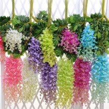 artificial-plants-43.2' Artificial Silk Wedding plant wall arch decoration artificial flowers on JD