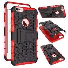 -For Apple Iphone 6S Case 4.7inch High Quality Hybrid Kickstand Rugged Rubber Armor Hard PC+TPU 2 In 1 Stand Function Cover Cases on JD