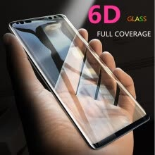-6D Full Curved 5D Tempered Glass For Samsung Galaxy S8 S9 Plus 3D Screen Protector Film S7 Edge Note 8 A6 A8 Plus Cover case on JD
