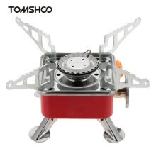 9e76d5ea01e TOMSHOO Portable Collapsible Outdoor Backpacking Butane Gas Camping Picnic Stove  Burner 2800W Outdoor Stove
