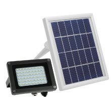 smart-light-bulbs-Solar Powered Floodlight 54 LED Solar Lights IP65 Waterproof Outdoor Security Lights with Bracket for Home, Garden, Lawn on JD
