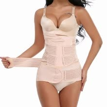 875061832-3 in 1 Postpartum Support Recovery Belly Wrap Waist/Pelvis Belt Body Shaper Postnatal Shapewear US Stock on JD