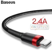 -Базовый телефон USB-кабель для iPhone X 8 7 6 5 6s Быстрая зарядка, 2.4A Quick Charger USB Linghting Cable для Apple X 8 7P on JD