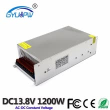 -1200W 13.8V 87A Switching power supply for LED Strip light AC to DC power Adapter input 220v AC-DC SMPS Converter With machine on JD