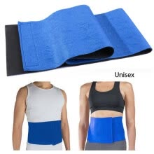 -Hot Waist Trimmer Exercise Wrap Belt Slimming Burn Fat Sweat Weight Loss Body Shaper on JD