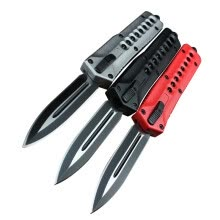 fishing-hunting-Newest C07 Automatic Knife Tactical Aluminum Alloy 440c double action camping Knives self-defense rescue men's Hand tools 1pcs on JD