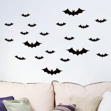 -PVC Removable Bat Wall Sticker Decal Living Room Home Decor Vinyl Art Mural on JD