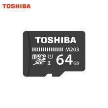 875061488-Toshiba TF Card M203 micro SD memory card UHS-I 64GB U1 Class10 FullHD flash memory card microSDXC microSD on JD