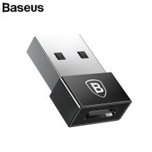 875061539-Baseus USB Male to Type C Female Cable OTG Adapter,Mini cable adapter for Cpmputer  Android Phone  Daily Data cable adater on JD
