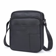 -Messenger Bag Men's Shoulder bag Genuine Leather flap vintage male man crossbody Bags for men Messenger leather on JD