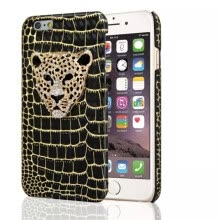 -Luxury Fashion Leopard Crystal PU + Platsic Case for iPhone 6 4.7' Personality Phone Cover Shell on JD