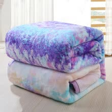 8750203-Jiuzhoulu home carpet blanket coral wool blanket bed sheets summer nap air conditioning blankets on JD