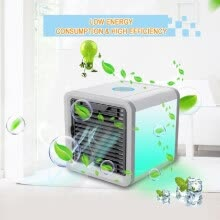 power-tools-Plastic Personal Mini Air Conditioner Fan Refrigerating Machine with USB Cable on JD