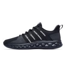 -Jordan men's shoes running shoes leather surface breathable lightweight casual shoes men XM3580227B black 42 on JD