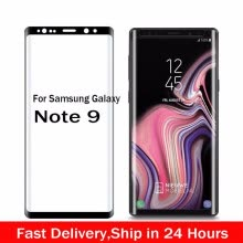 -3D Curved Full Cover Tempered Glass For Samsung Galaxy Note 9 Screen Protector Protective Film on JD