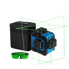 8750209-Prostormer 12 Lines Rechargeable Laser Levels Professional 3D 360 Horizontal Vertical&Horizontal Tilt & Outdoor Mode Laser Level on JD