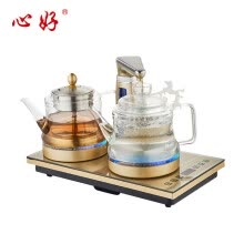 -Xinhao (xinhao) all intelligent automatic water heater electric kettle high borosilicate glass electric tea pot tea steaming teapot electric tea stove teapot XH-LX5 gold electric kettle on JD