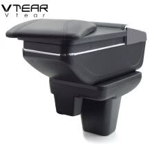 other-interior-car-accessories-Vtear For MG MG3 2017-2018 armrest box central Store content box products interior Armrest Storage car-styling accessories part on JD