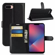 -for Oppo A3s WIERSS Wallet Phone Case for Oppo A3s for Oppo A5 Flip Leather Cover Case Etui Fundas Capa Coque> on JD