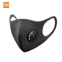 health-monitoring-devices-3PCS Xiaomi Smartmi Anti-Pollution Air Sport Face Mask Block Respirators PM2.5 Haze Anti-haze Adjustable Ear Hanging 3D Design Com on JD