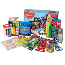 -Maped CH899927 Little Painter Set (Watercolor Pen + Color Pencil + Oil Stick + Pen Sharpener + Ruler + Eraser) on JD