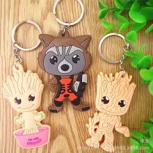 fine-jewelry-Baby Groot Guardians of the Galaxy Key chain bag chain Alloy Key Ring Pendant on JD