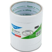 -Guangbo (GuangBo) 6 rolls 18mm * 6y double-sided tape cotton paper double-sided tape office stationery SM-3 on JD