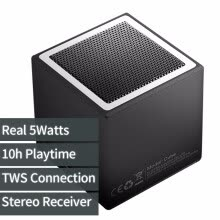 -5Watts Cube Wireless TWS Bluetooth Speaker, Стерео адаптер Bluetooth-приемника, TWS-Соедините второй громкоговоритель для стереозвука on JD