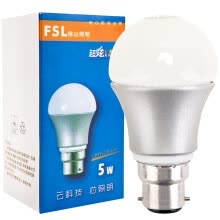-[Jingdong Supermarket] Foshan Lighting (FSL) LED Port Bubble B22 Energy Saving Bulb 5W Warm White 3000K on JD