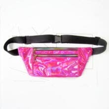 waist-packs-Bum Bag Fanny Pack Travel Waist Festival Money Belt Leather Pouch Shiny Wallet on JD