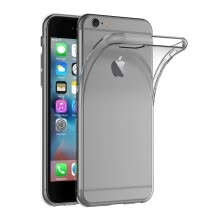-Case for Apple iPhone 6 / iPhone 6S (4.7 inch) Soft TPU Rubber Gel Bumper Transparent Back Cover on JD