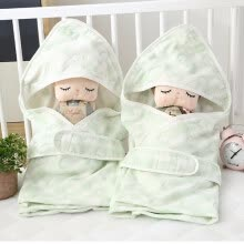 -Are Covered With Pure Cotton Sleeping Blanket Scarf Summer  Thin Gauze  Small Quilt  Men and Women Baby Products on JD
