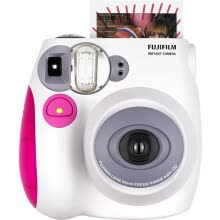 compact-digital-cameras-FUJIFILM  Checky mini7s instax  camera, pink on JD