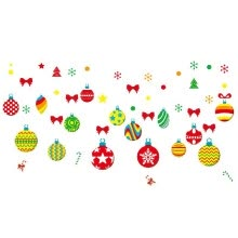 -Christmas Decorations Glass Window Stickers DIY Wallpaper PVC Removable Self-adhesive Decorative Wall Stickers Shop Home Decals on JD