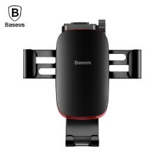 -Baseus Metal Age Gravity Car Mount with Connecting Rod for 4 - 6 inch Mobile Phones 360 Degree Free Rotation Aluminum Alloy on JD