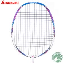 -100% Original Kawasaki Full Carbon Badminton RacketX160 With String on JD