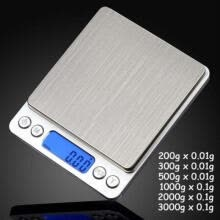 pocket-watches-3000g X 0.1g 0.01g Digital Pocket Scale Jewelry Weight Electronic Balance Gram on JD